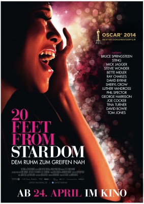 20 FEET FROM STARDOM – Plakat