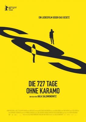 DIE 727 TAGE OHNE KARAMO – Plakat
