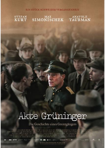 AKTE GRÜNINGER – Plakat