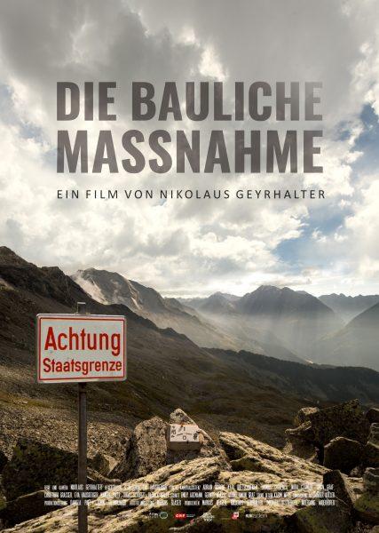 DIE BAULICHE MASSNAHME Plakat