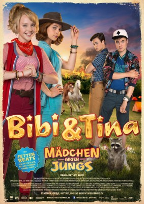BIBI & TINA – MÄDCHEN GEGEN JUNGS – Plakat