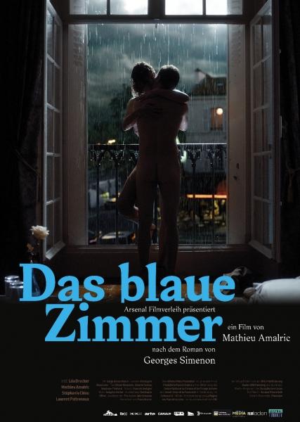 DAS BLAUE ZIMMER – Plakat