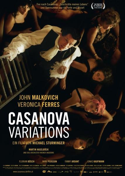CASANOVA VARIATIONS – Plakat