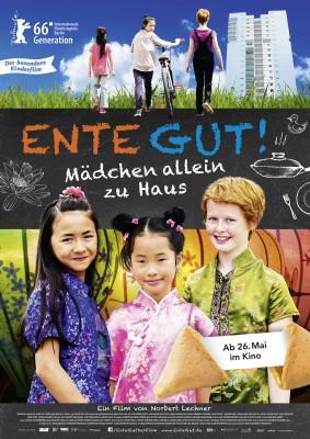 ENTE GUT! MÄDCHEN ALLEIN ZU HAUS – Plakat