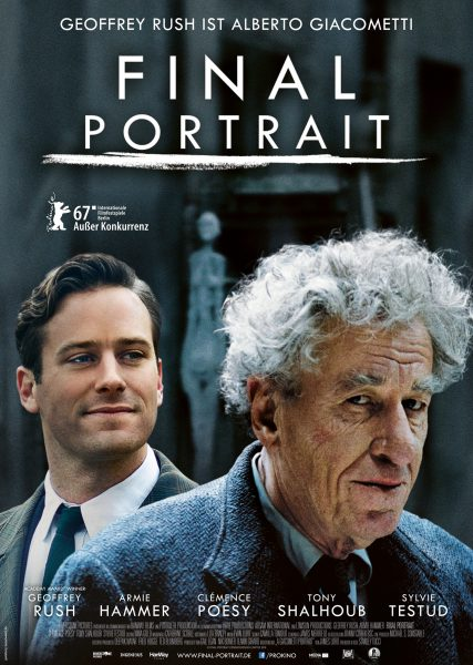 FINAL PORTRAIT Plakat