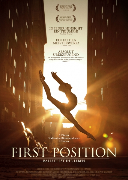 FIRST POSITION – Plakat