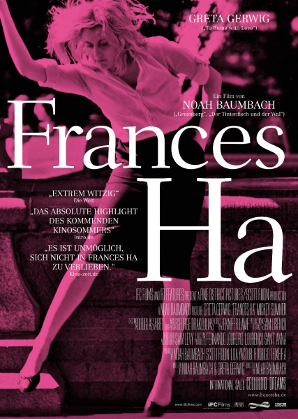 FRANCES HA – Plakat