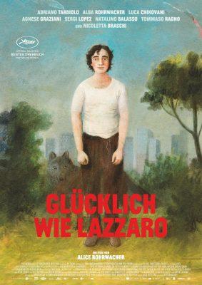 GLÜCKLICH WIE LAZZARO Plakat