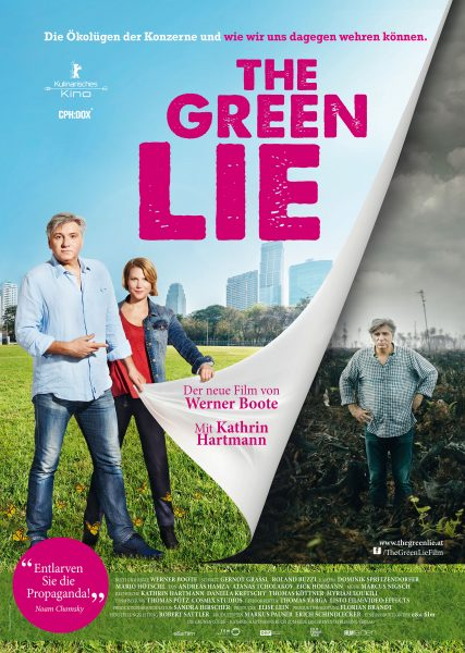 THE GREEN LIE Plakat