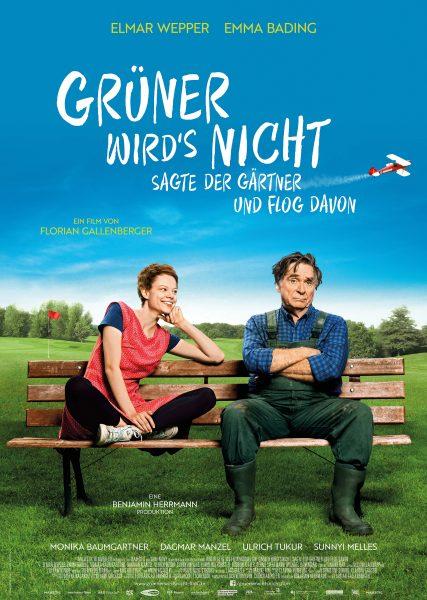 GRÜNER WIRD'S NICHT Plakat