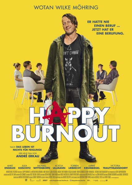 HAPPY BURNOUT Plakat