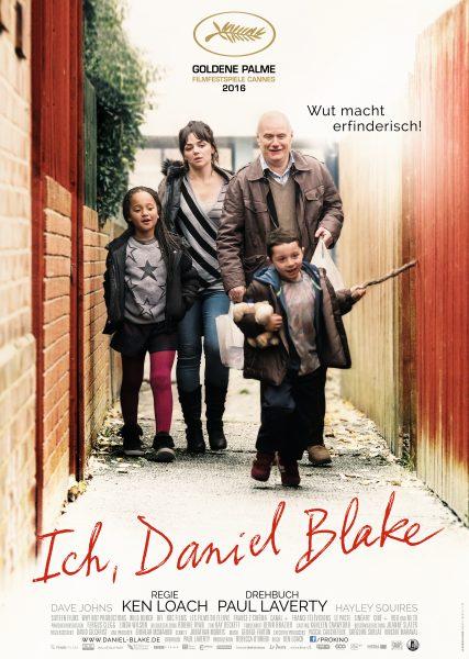 ICH, DANIEL BLAKE – Plakat