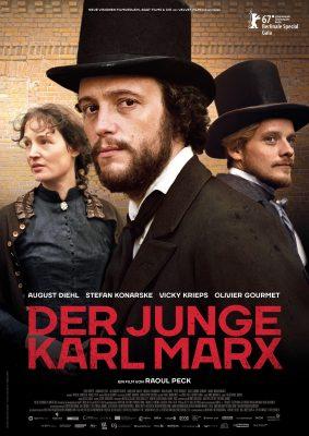 DER JUNGE KARL MARX – Plakat