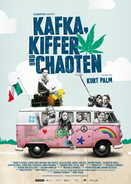 KAFKA, KIFFER UND CHAOTEN – Plakat