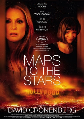MAPS TO THE STARS – Plakat