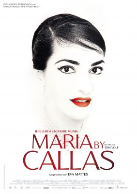 MARIA BY CALLAS Plakat