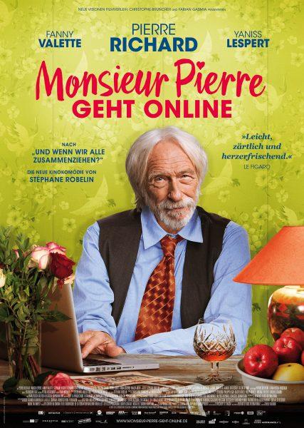 MONSIEUR PIERR GEHT ONLINE Plakat