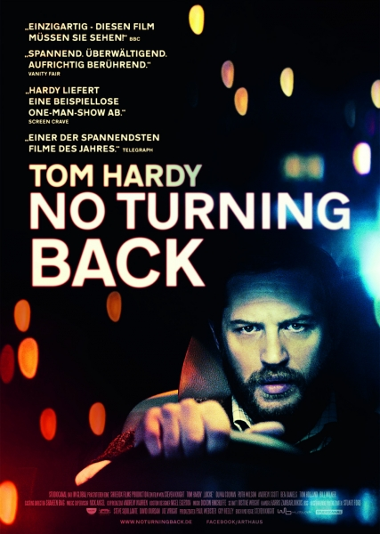NO TURNING BACK – Plakat