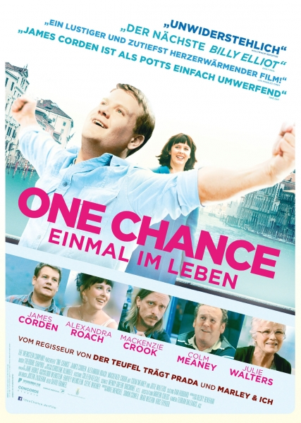 ONE CHANCE – Plakat