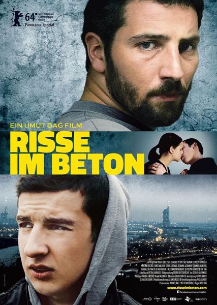 RISSE IM BETON – Plakat