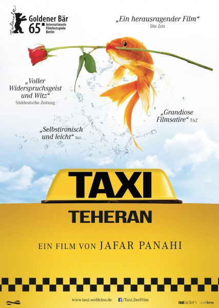 TAXI TEHERAN_Plakat