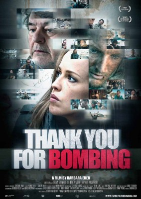THANK YOU FOR BOMBING – Plakat