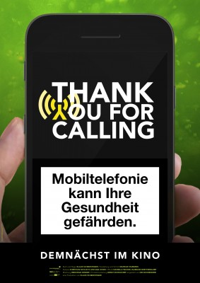 THANK YOU FOR CALLING – Plakat