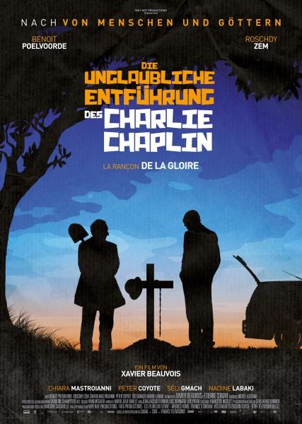 DIE UNGLAUBLICHE ENTFÜHRUNG DES CHARLIE CHAPLIN – Plakat