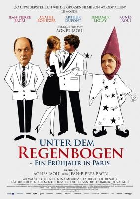 UNTER DEM REGENBOGEN – Plakat