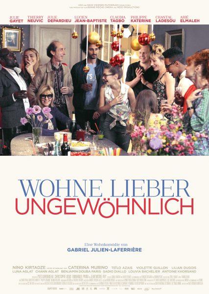 WOHNE LIEBER UNGEWÖHNLICH Plakat