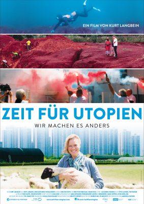 ZEIT FÜR UTOPIEN Plakat